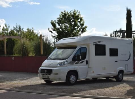 camping-car FLEURETTE FLORIUM MAYFLOWER 65 LD  extérieur / latéral droit