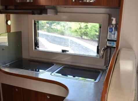 camping-car FLEURETTE FLORIUM MAYFLOWER 65 LD  intérieur / salle de bain  et wc