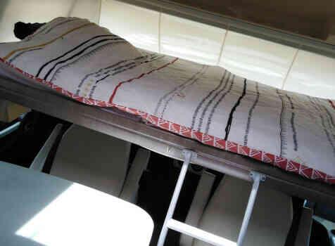 camping-car BAVARIA FJORD I 741  intérieur / autre couchage