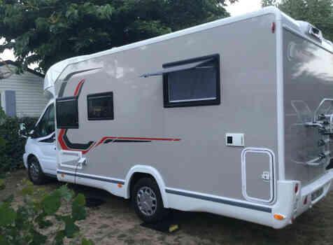 camping-car CHALLENGER 358 GRAPHITE EDITION BVA  extérieur / latéral droit