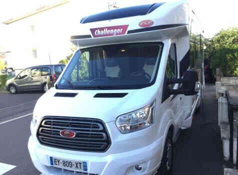 camping-car CHALLENGER 358 GRAPHITE EDITION BVA  extérieur / arrière
