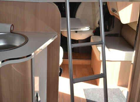 camping-car MC LOUIS MC4 379 G   intérieur / autre couchage