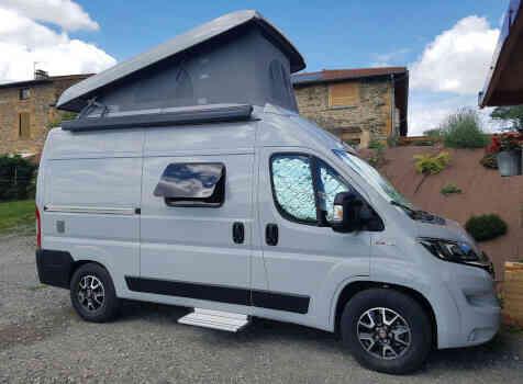 camping-car HYMERCAR FREE 540  intérieur / autre couchage