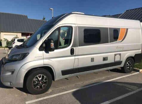 camping-car BURSTNER HARMONY LINE  extérieur / latéral gauche