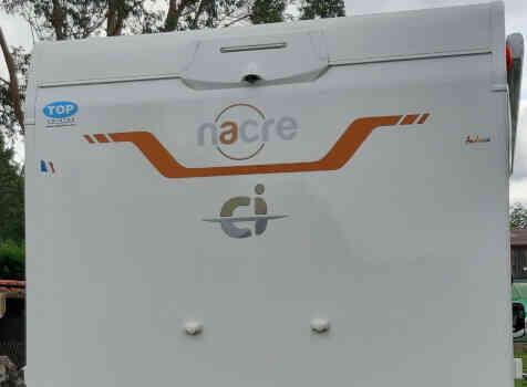 camping-car CI NACRE  intérieur / coin salon