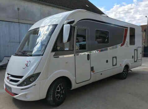 camping-car BURSTNER VISEO I 720 G Edition  extérieur / latéral gauche