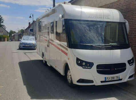 camping-car Autostar  Privilege lc730  extérieur / latéral gauche