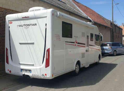 camping-car AUTOSTAR PRIVILEGE  LC 730  extérieur / arrière