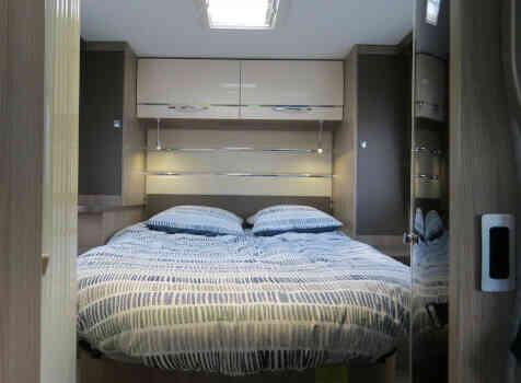 camping-car CHAUSSON CHORUS 628 EB  intérieur / autre couchage