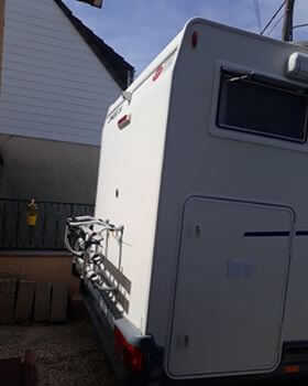 camping-car CHAUSSON WELCOM 18   intérieur / coin salon