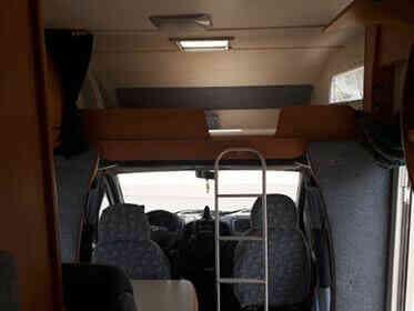 camping-car CHAUSSON WELCOM 18   intérieur / autre couchage