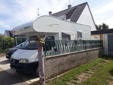 camping-car CHAUSSON WELCOM 18   extérieur / latéral droit