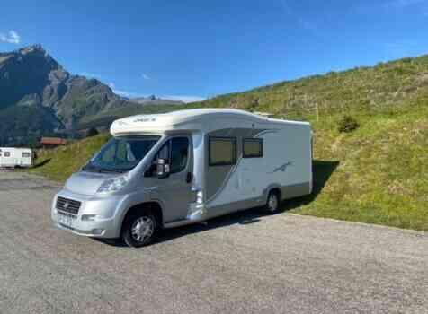 camping-car CHAUSSON ALLEGRO 97  extérieur / latéral droit