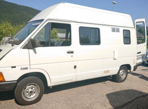 camping-car RENAULT TRAFIC AMENAGE