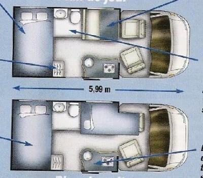 camping-car BURSTNER MARANO T 590