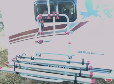 camping-car RIMOR SEAL 9  extérieur / arrière