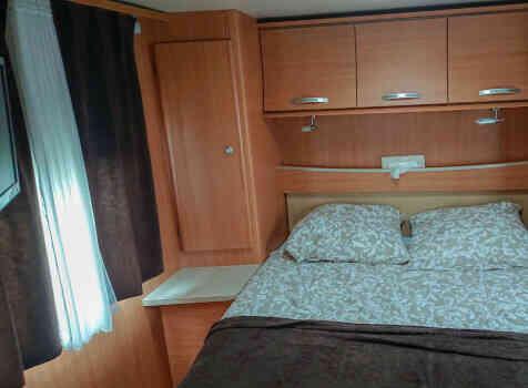 camping-car CHAUSSON FLASH 19  intérieur / autre couchage