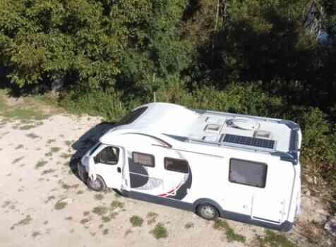 camping-car ROLLER TEAM XLM EL MAGNIFICO  extérieur / latéral gauche