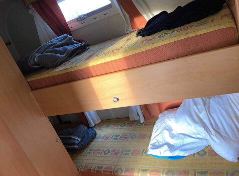 camping-car ELGANH JOXY  intérieur / coin salon