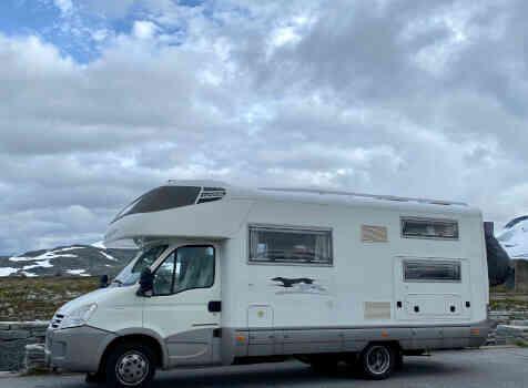 camping-car LAIKA KREOS 3002  extérieur