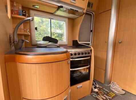 camping-car LAIKA KREOS 3002  intérieur