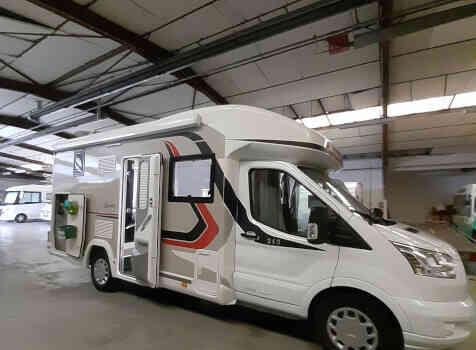 camping-car CHALLENGER 260 GRAPHITE EDITION BOITE AUTO  extérieur / latéral gauche