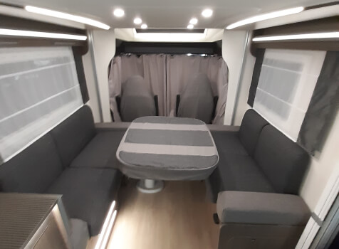 camping-car CHALLENGER 260 GRAPHITE EDITION BOITE AUTO  intérieur / autre couchage