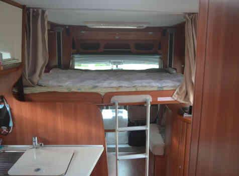 camping-car LAIKA XR 715R    intérieur / autre couchage