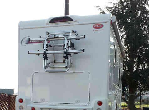 camping-car CHALLENGER G 290  extérieur / latéral gauche