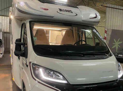 camping-car MC LOUIS MC4 80 DIAMOND  extérieur / arrière