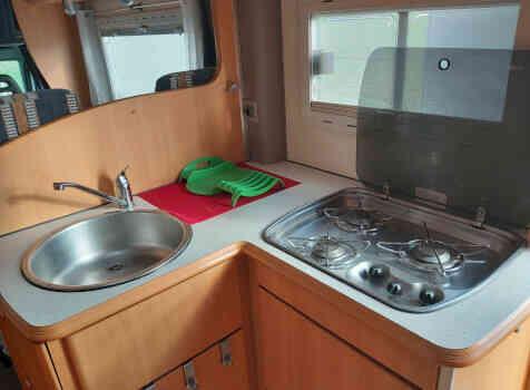camping-car PILOTE A 690  intérieur
