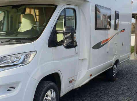 camping-car PLA HAPPY 435  extérieur / latéral droit