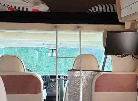 camping-car PLA HAPPY 435  intérieur / autre couchage