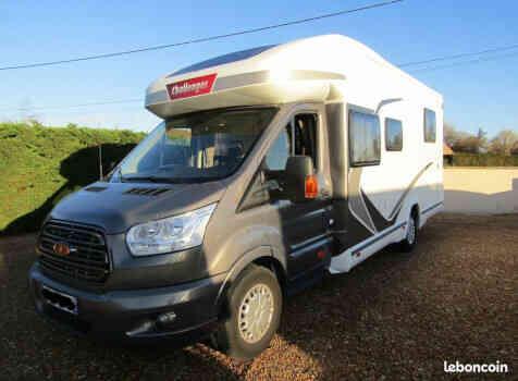 camping-car CHALLENGER 398 EB GENESIS  extérieur / latéral
