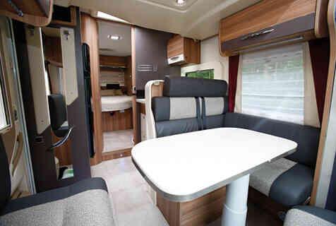 camping-car CHALLENGER 398 EB GENESIS  intérieur