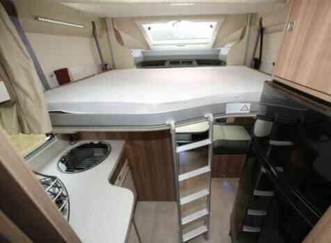 camping-car CHALLENGER 398 EB GENESIS  intérieur / autre couchage