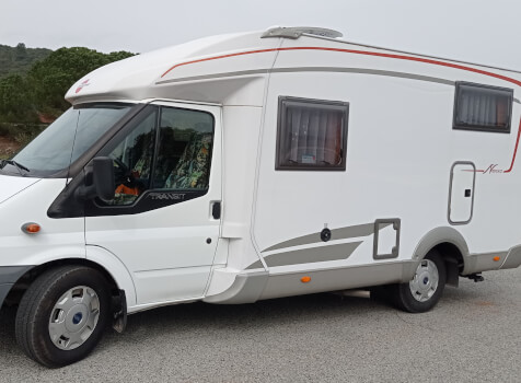 camping-car BURSTNER NEXXO T620  extérieur / latéral droit