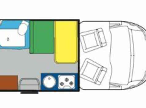 camping-car BURSTNER NEXXO T620  intérieur / autre couchage