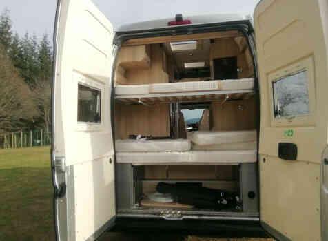 camping-car CAMPEREVE FAMILY VAN   extérieur