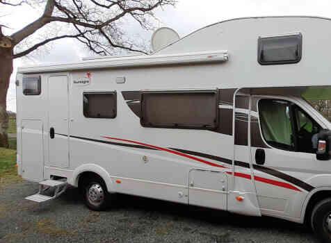 camping-car SUNLIHT  A72  extérieur