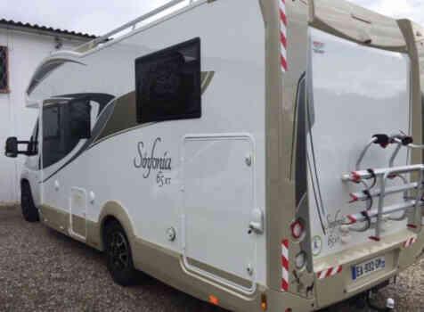 camping-car  ADRIA  SINFONIA 65 XT