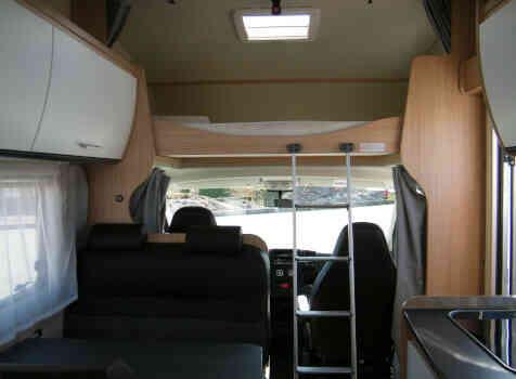 camping-car SUNLIGHT   intérieur / autre couchage