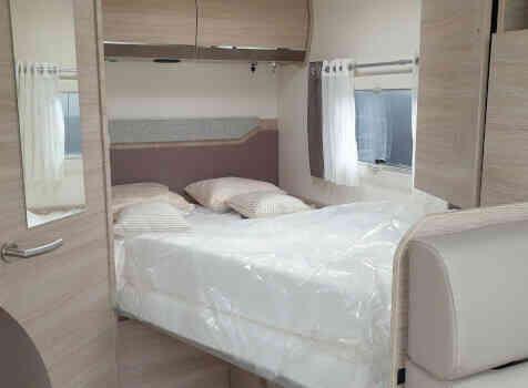 camping-car RAPIDO C56  intérieur / autre couchage