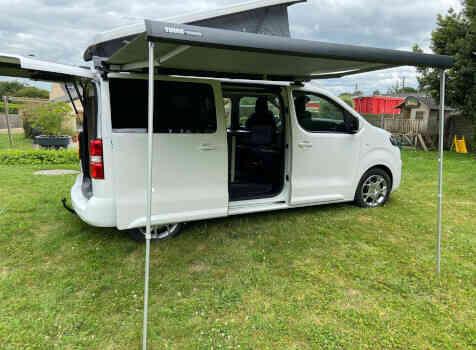 camping-car POSSL CAMPSTER  extérieur / arrière