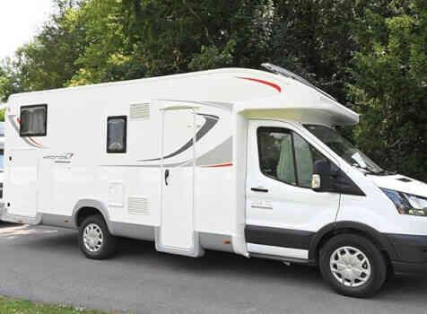 camping-car ROLLER TEAM 284 TL  extérieur