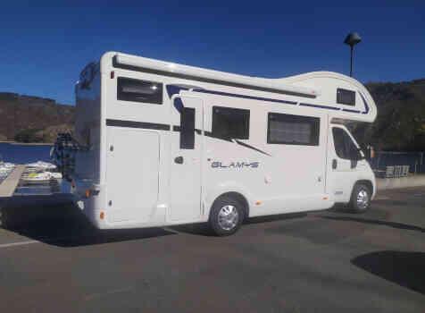 camping-car MC LOUIS GLAMYS 222  extérieur / latéral droit