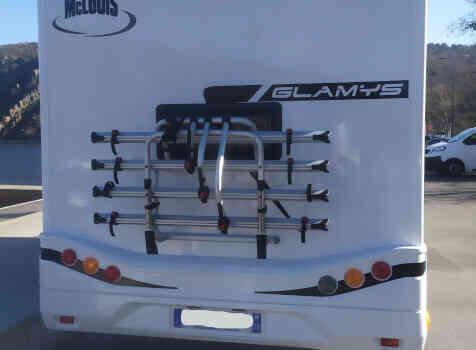 camping-car MC LOUIS GLAMYS 222  extérieur / arrière