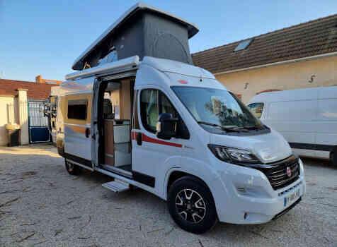camping-car PILOTE 600 G  extérieur / latéral