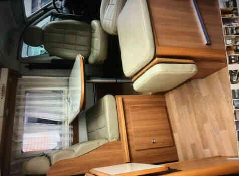 camping-car RAPIDO V53  intérieur / coin salon