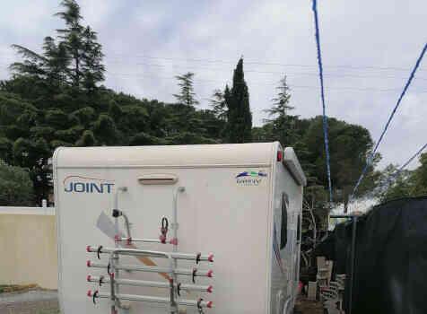 camping-car JOINT J154  extérieur / latéral gauche